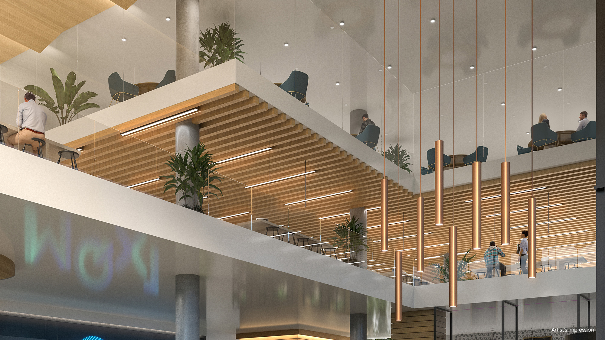 MQX Triple Height Foyer